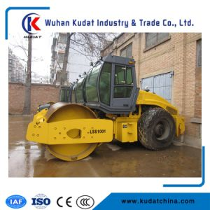Mini Asphalt Pressure Roller Lss1001 (10000kgs road roller, single drum road roller) pictures & photos