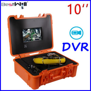 10′′ Monitor DVR Video Pipe/Sewer/Drain/Chimney Inspection Camera 10G pictures & photos