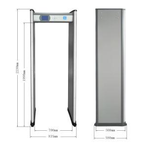 Security Walkthrough Metal Detector with High Sensitivity Xld-B pictures & photos