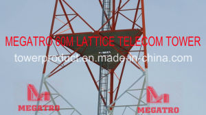 Megatro 60m Lattice Scada-Telecommunication System Tower  pictures & photos