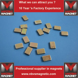 Strongest Permanent NdFeB Disc Magnet for Stepper Motors Magnetic Micro Switches pictures & photos