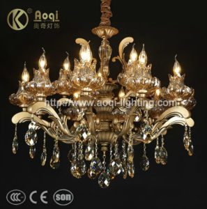 Europ Style Crystal Pendent Lamp (AQ073-10+5) pictures & photos
