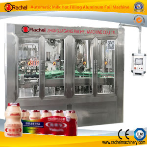 Yoghourt Filling Aluminum Foil Sealing Machine pictures & photos