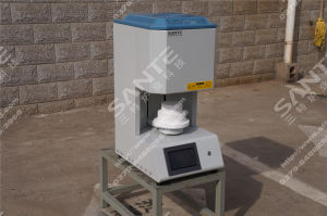 Dental Lab Sintering Furnace Small Bottom Loading Furnace 1200degrees pictures & photos