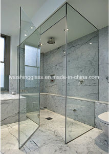 Safety and Clear Tempered Shower Glass Manufacturer pictures & photos