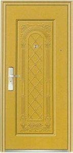Residential Decorative Steel Doors Designs (steel door) pictures & photos