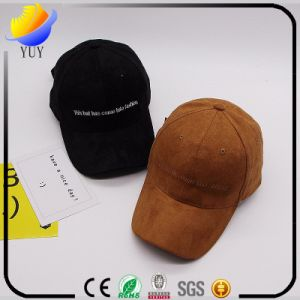 The New Suede All-Match Baseball Hat Embroidered Deer Head Bending Couple Peaked Cap Brim pictures & photos