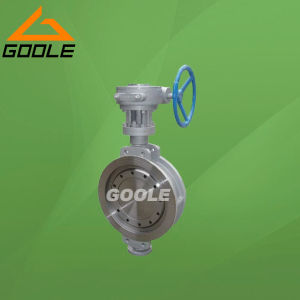 150lb/300lb Stainless Steel Gear Operated Wafer Type Butterfly Valve (GAD373W) pictures & photos