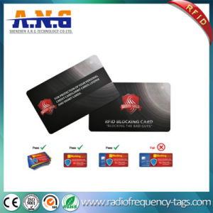 RFID Blocking Card Protect Information of ID Card Credit Card E-Passport pictures & photos