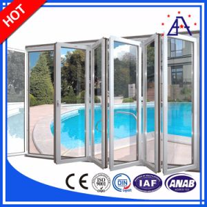 Aluminum/Aluminium Folding Window and Doors for Hotel pictures & photos