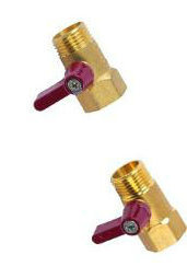 Straight Ball Brass Gas Valve pictures & photos