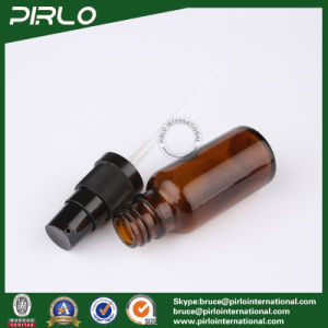 20ml Amber Glass Spray Bottles with Black Lotion Sprayer pictures & photos