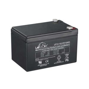 Lp12-12 Sealed Lead Acid Battery for EPS, Solar Street Lamp pictures & photos