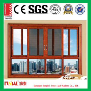 German Style Aluminum Sliding Window with Ce Certificates pictures & photos