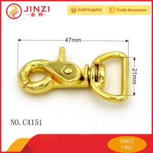 Factory Wholesale Metal Gold Trigger Snap Hook for Straps with High Quality pictures & photos