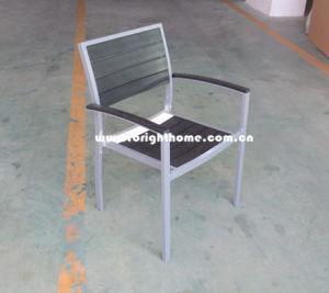 New Design Aluminium Plastic Wood Top Outdoor Chair pictures & photos