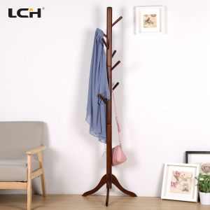 Modern Living Room Furniture Wooden Clothes Hanger Rack pictures & photos