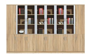 Aluminum Alloy Frame Office Using Document Cabinet pictures & photos