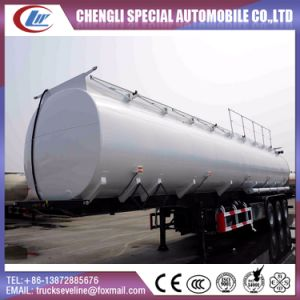 Carbonsteel 40 Cbm to 60 Cbm Fuel Trailer for Sale pictures & photos