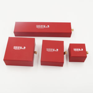 Girl′s Women′s Jewelry Gift Packaging Box with Drawer (J64-E1) pictures & photos
