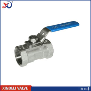 Stainless Steel 1PC Screwed End 1000wog Ball Valve with Ce Certificate pictures & photos