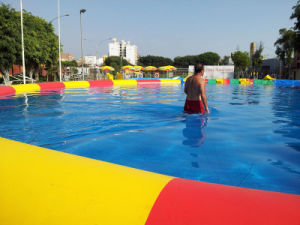 Large Inflatable Water Park for Kids and Adult (HL-003) pictures & photos