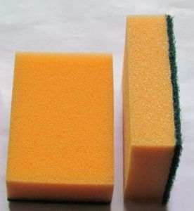 High Quality Colorful Sponge and Scouring Pad pictures & photos