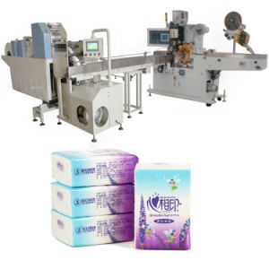 Single Pocket Tissue Paper Packing Machine pictures & photos
