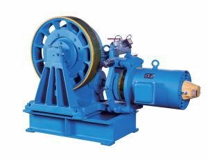 Geared Traction Machine for Elevators (YJ245) pictures & photos