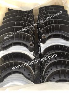 Casting Iron Brake Shoe Heavy Duty Truck Brak Shoe Camiones Pesados Brak Zapato pictures & photos