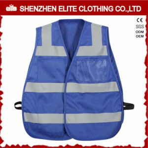 Reflective Blue Disposable Safety Vest Mesh pictures & photos
