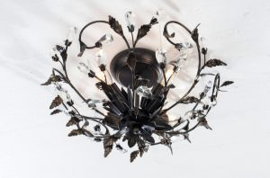 UL Approval Vintage Satin Black Ceiling Light / Flush Mount pictures & photos