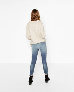 Fashioned Women Skinny Trousers pictures & photos