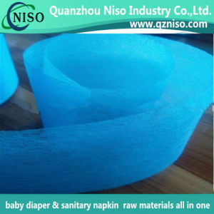 Hot Selling Air-Through Adl Non Woven Fabric for Disposable Baby Diaper pictures & photos