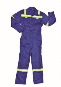Adults Breathable Polyester & Cotton Safety Reflective Clothing Coveralls pictures & photos