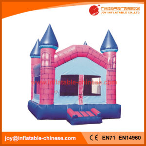 Inflatable Pink Brick Bouncy Castle Jumping Toy for Kids (T2-109) pictures & photos