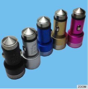 Reasonable Price Durable Colorful Metal USB Car Charger pictures & photos