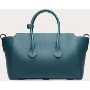 Women´ S Medium Leather Tote Bag in Teal Women´ S (BDMC087) pictures & photos