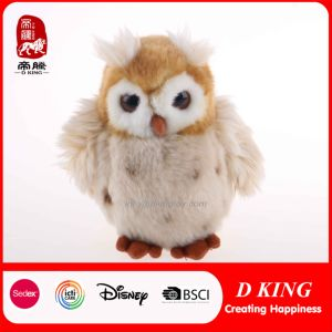 "6.7"" High-Quality Simulation Plush Owl Toys pictures & photos"
