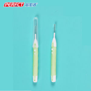 Perfect I-Shaped 5-in-1 Interdental Brush/Toothbrush pictures & photos