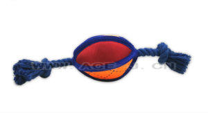 Pet Cheap Cotton Rope with Balls Tough Dog Toys for Aggressive Chewers pictures & photos