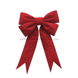 OEM Giant Christmas Bows Car Bows Velvet Huge Bows pictures & photos
