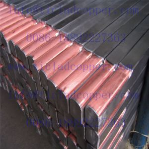 Titanium Clad Copper Bar / Titanium Copper Composite Rods pictures & photos