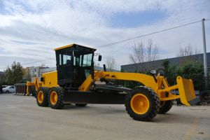 Gr120 Mini Motor Grader for Sale with 115HP pictures & photos