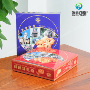 Printing Art Paper Packaging Box for Shortbread pictures & photos