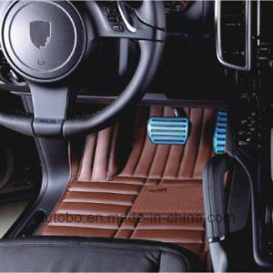 Car Mats Full Surround High Quality Leatherette XPE Carpet pictures & photos