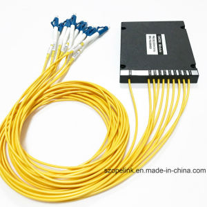Optical Wdm Mux/Demux High Channel 8CH Plastic Box DWDM pictures & photos