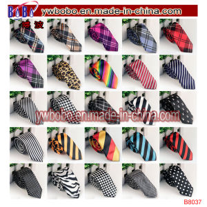 Men′s Neckwear Slim Skinny Satin Wedding Ties Work Tie (B8046) pictures & photos