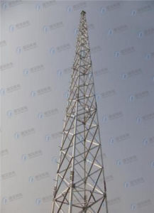 Hot-DIP Galvanized Telecommunication Lattice Tower pictures & photos