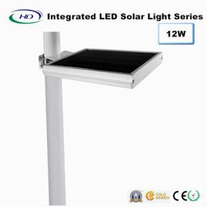 12W PIR Sensor Integrated LED Solar Garden Light pictures & photos